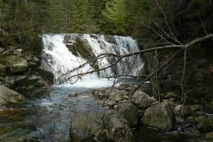 Kleiner Elbe-Wasserfall