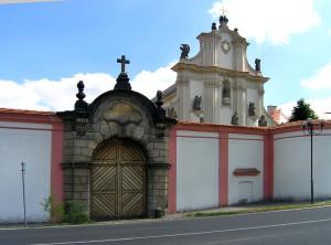 Kloster in Ossegg