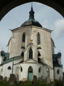 die Wallfahrtskirche des heiligen Johannes von Nepomuk.