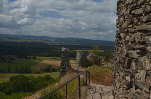 Engelsburg - Blick in die Landschaft