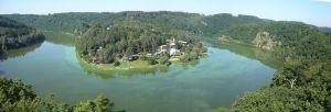 Talsperre Vranov - Burg Zornstein