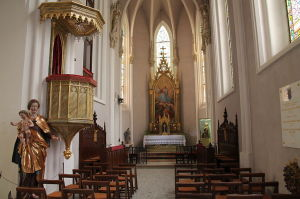 Interieur der Burgkapelle