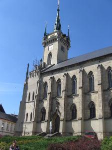 St. -Jakob Kirche in Polička