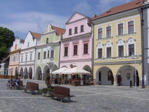 Třeboň Marktplatz