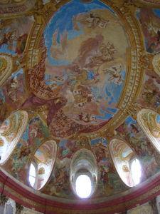 Fresken in der Schlosskirche