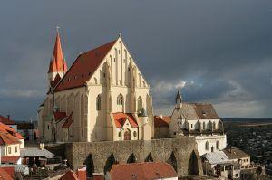 Znojmo - Dom des Heiligen Nikolaus