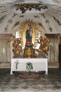 Altar in der Kapelle