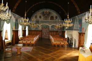 Innenräume in der Burg
