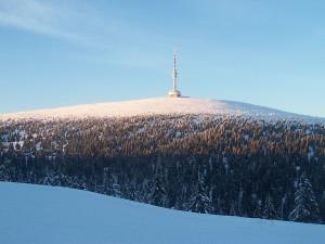 Der Gipfel Praděd - Altvater