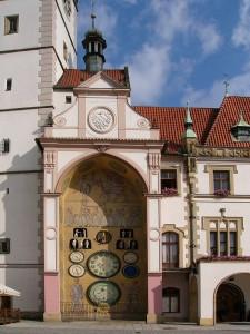 Astronomische Uhr in Olmütz