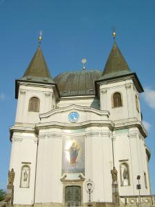 Wallfahrtskirche auf Svatý Hostýn