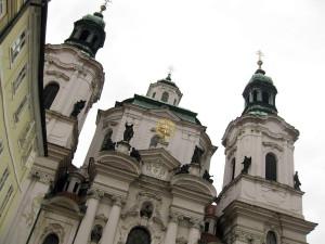 Detail der St.-Nikolaus-Kirche