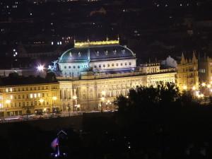 Das Nationaltheater in Prag
