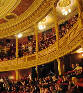 Zuschauerraum im Nationaltheater