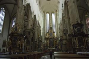 Interieur der Teynkirche
