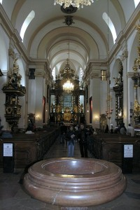 Interieur der Kirche